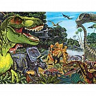 Dinosaur Land Family Puzzle (400 pc)