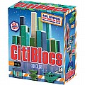 50 Piece Assorted Cool Colors Wooden Blocks