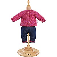 Corolle Mon Premier Grenadine Blouse & Denim Pants (12