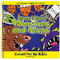 Gross  Yucky Monsters and Aliens Coloring  ARTivity Book