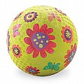 Crocodile Creek Flower Garden Green Playground Ball 5 inches