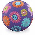 Crocodile Creek Flowers Purple Playground Ball 5 inches