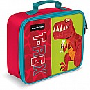 "Crocodile Creek Eco Kids Dinosaur T-Rex Insulated Boys' Lunchbox 10"" with handle"
