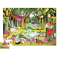 36 pc Shaped Puzzle - Fairy Forest