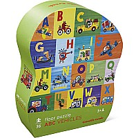 ABC Vehicles 36pc Puzzle