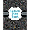 Black & White Lesson Plan Book
