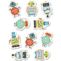 Riveting Robots Stickers