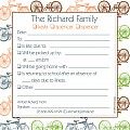 Bike Family Excuse Pad