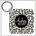 Black Leopard Key Chain