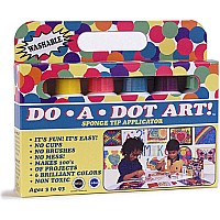Do A Dot Markers 6-pk Brilliant (washable)