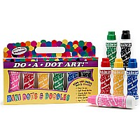 Do A Dot Markers 6-pk Jewel Tone (washable)