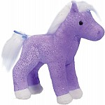 Crystal Purple Sparkle Horse