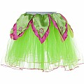 Bright Green Tutu / Hot Pink Petals - S