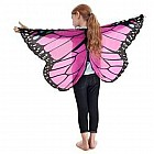 Monarch Wings with Glitter, Pink