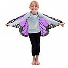 Monarch Wings with Glitter, Purple