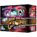 Break Open Real Geodes-ultimate Kit of 15 with Safety Goggles