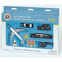 Air Force One Play set 9 Pc