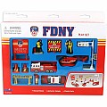 FDNY Fire Truck Playset (13 Piece Set)