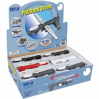 Predator Drone W/Light & Sound 12 Pc Asst