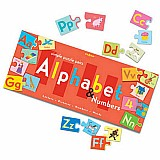 Alphabet Puzzle Pairs 72 Pieces