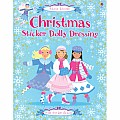 Christmas Sticker Dolly Dressing Book