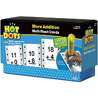 Hot Dots Math Flash Cards  More Addition