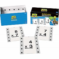 Hot Dots Flash Cards Multiplication 0-9