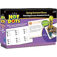 Hot Dots Reading Comprehension  Using Context Clues