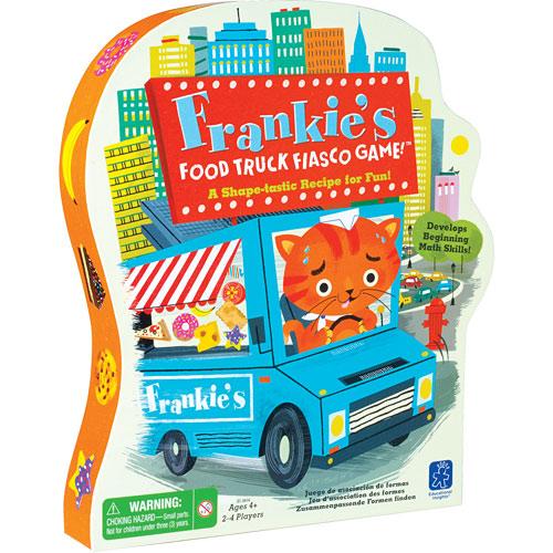Frankie 39 s food truck fiasco game monkey fish toys for Monkey fish toys