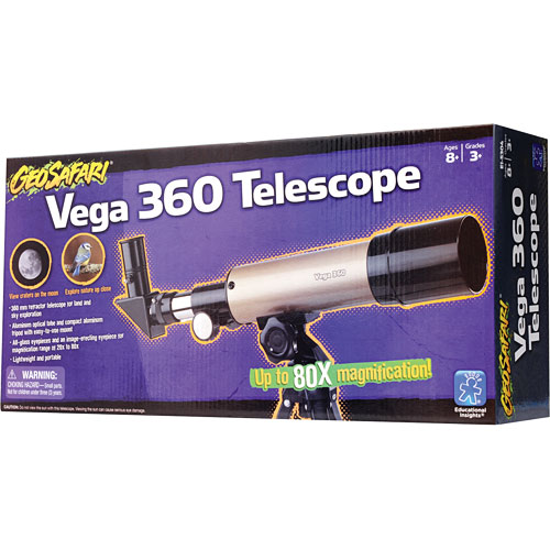 This telescope is light weight and durable