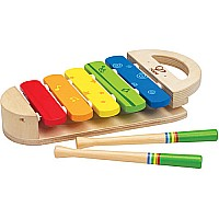 Wooden Rainbow Xylophone Toy