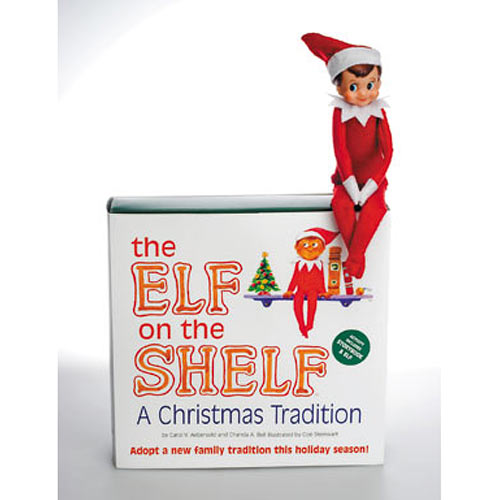 the elf on the shelf a christmas tradition from the. Black Bedroom Furniture Sets. Home Design Ideas