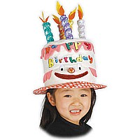 Birthday Cake Rainbow Hat
