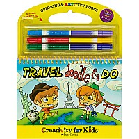Travel Doodle  Do Coloring  ARTivity Book