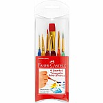 Paint Brushes  Set of 6
