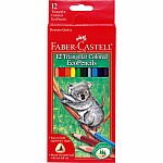 Triangular Colored EcoPencils  12 ct.