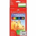 12 CT Jumbo Colored Pencils (full Length)