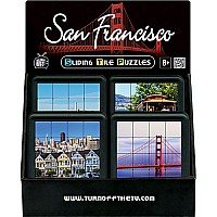 Sliding Tile Puzzles-San Francisco-Display of 16 / 4 titles