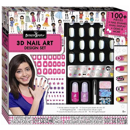 Fashion angels 3d nail design set 11613 fashion angels fashion angels 3d nail design set prinsesfo Images