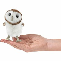 Mini Barn Owl Finger Puppet