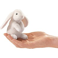 Mini Rabbit, Lop Eared Finger Puppet