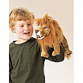 Lion, Small Hand Puppet