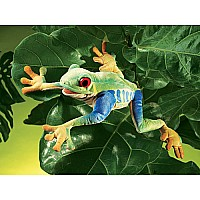Frog, Red Eyed Tree Hand Puppet
