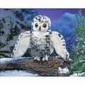Small Snowy Owl Puppet