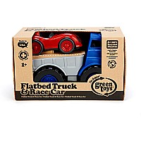 Flatbed Truck  Race Car