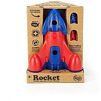 Green Toys Rocket - Blue Top