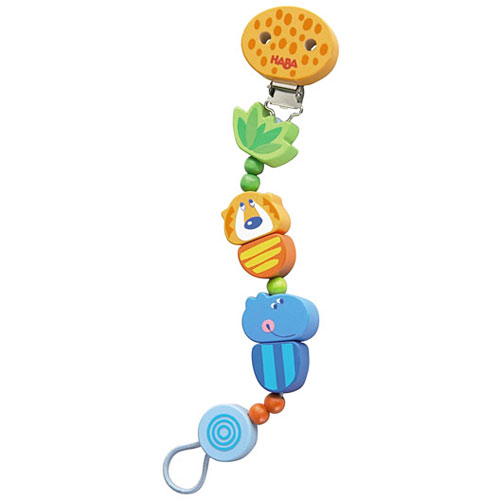 Jungle caboodle pacifier rattle holder monkey fish toys for Monkey fish toys