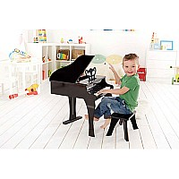 Happy Grand Piano, Black