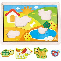 Sunny Valley Puzzle 3in1