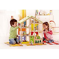 Hape Doll House All Season House (unfurnished)